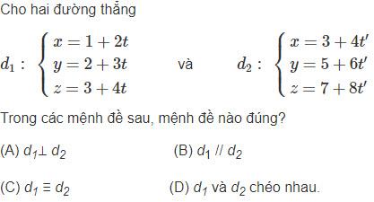 Câu hỏi bài 13 trang 96 sgk hình học lớp 12