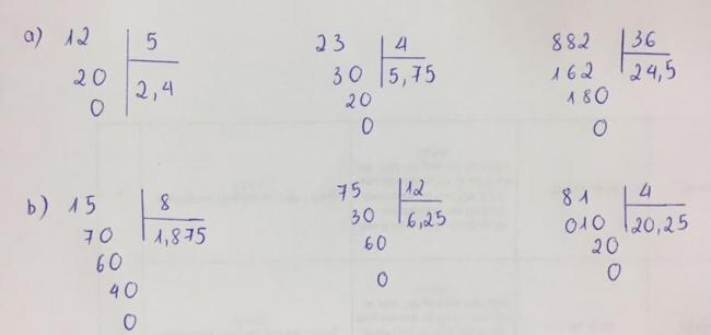 Đáp án bài 1 trang 68 sách giáo khoa Toán lớp 5