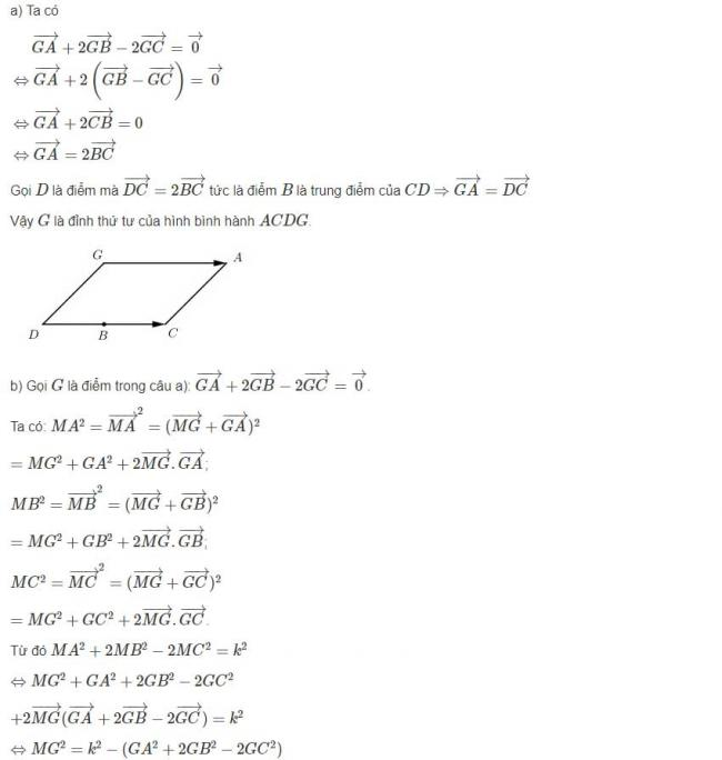 Đáp án bài 14 trang 101 sgk hình học lớp 12 phần