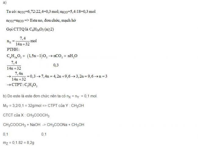 Đáp án bài 6 trang 7 sgk hóa lớp 12