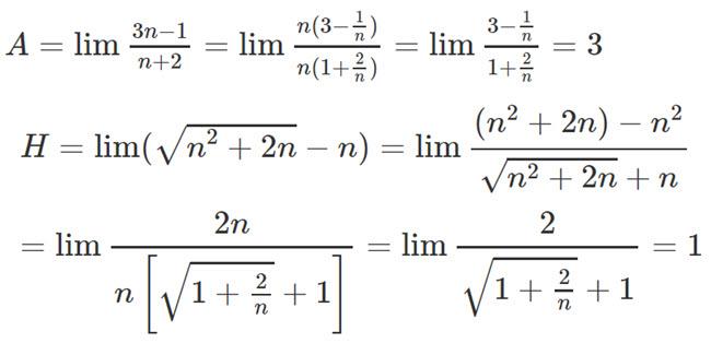 Đáp án bài 3 trang 141 SGK toán đại số và giải tích lớp 11 câu a
