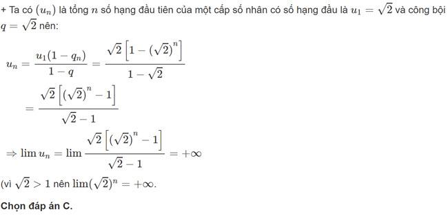 Đáp án bài 11 trang 143 SGK toán đại số và giải tích lớp 11