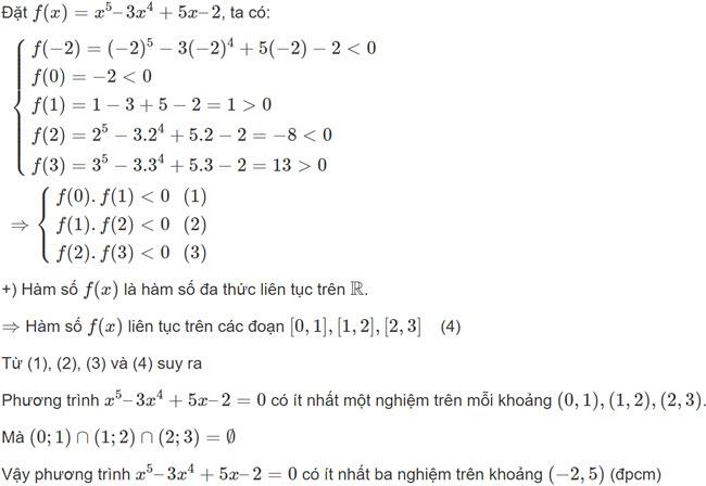 Đáp án bài 8 trang 143 SGK toán đại số và giải tích lớp 11