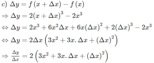 Đáp án bài 2 trang 156 SGK toán đại số và giải tích lớp 11 câu c