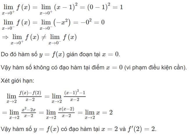 Đáp án bài 4 trang 156 SGK toán đại số và giải tích lớp 11