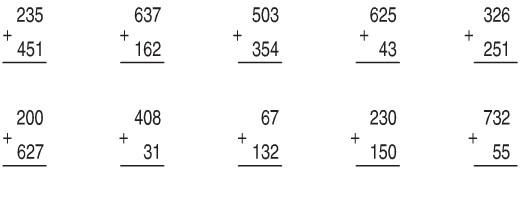 Giải bài Phép cộng (không nhớ) trong phạm vi 1000 SGK Toán 2 ảnh 1