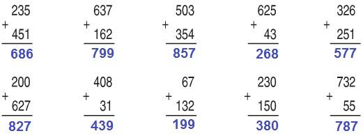 Giải bài Phép cộng (không nhớ) trong phạm vi 1000 SGK Toán 2 ảnh 2