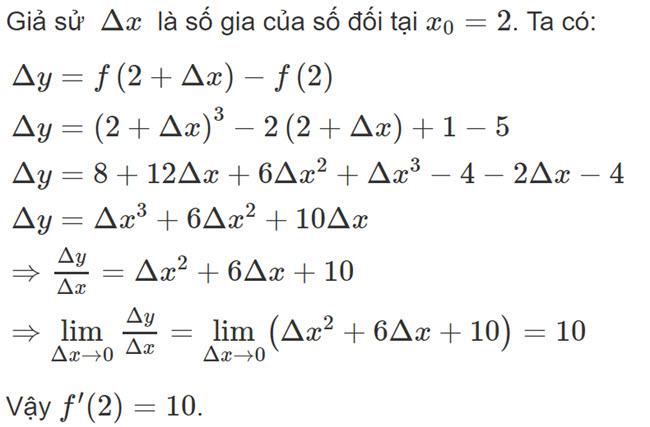 Đáp án bài 1 trang 162 SGK toán đại số và giải tích lớp 11 câu b