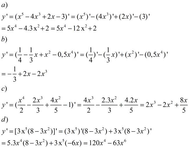 Đáp án bài 2 trang 163 SGK toán đại số và giải tích lớp 11
