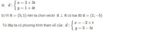 Hướng dẫn giải bài 1 trang 80 sgk hình học lớp 10