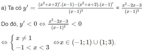 Đáp án bài 2 trang 168 SGK toán đại số và giải tích lớp 11 câu a