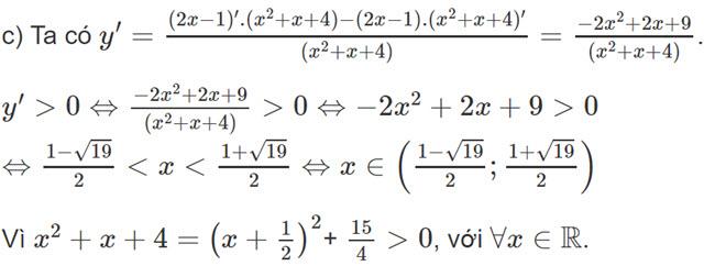 Đáp án bài 2 trang 168 SGK toán đại số và giải tích lớp 11 câu c