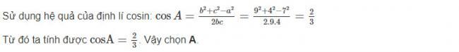Đáp án bài 21 trang 65 sgk hình học lớp 10