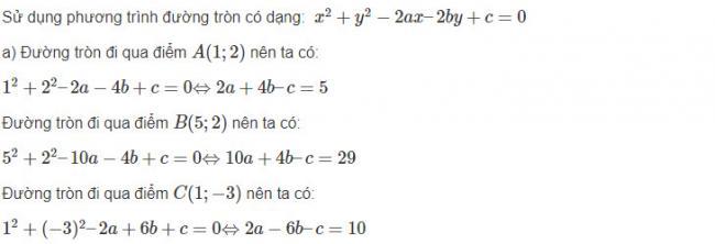 Hướng dẫn giải bài 3 trang 84 sgk hình học lớp 10