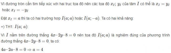 Giải toán hình học lớp 10 bài 5 trang 84 sgk