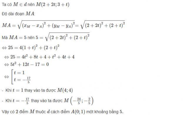 Đáp án bài 6 trang 80 sgk hình học lớp 10