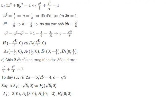 Cách giải bài 1 trang 88 sgk hình học lớp 10