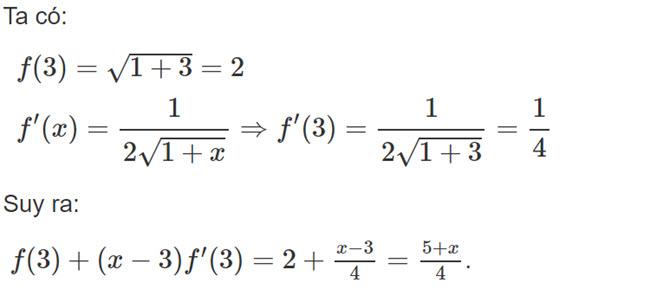 Đáp án bài 3 trang 176 SGK toán đại số và giải tích lớp 11