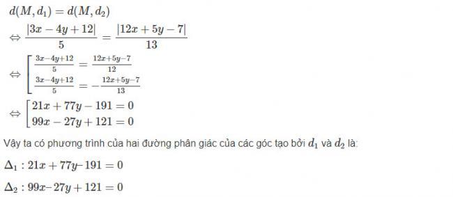 Giải toán hình học lớp 10 bài 6 trang 93 sgk