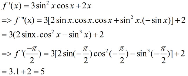 Đáp án bài 11 trang 177 SGK toán đại số và giải tích lớp 11