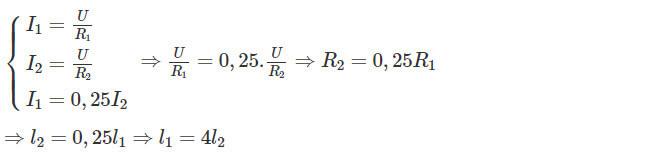 Đáp án bài C4 trang 21 sgk vật lý lớp 9