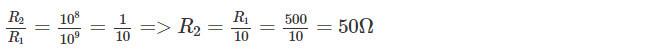 Đáp án bài C5 trang 24 sgk vật lý lớp 9 phần 1