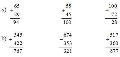 Giải bài Ôn tập về phép cộng và phép trừ (tiếp theo) trang 171 SGK Toán 2 ảnh 1
