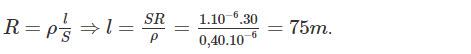 Đáp án bài 2 trang 32 sgk vật lý lớp 9 phần 1