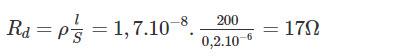 Đáp án bài 3 trang 33 sgk vật lý lớp 9