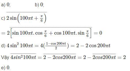 Đáp án bài 3 trang 66 sgk lý lớp 12