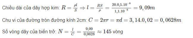 Đáp án bài C10 trang 30 sgk vật lý lớp 9