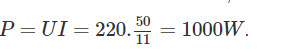 Đáp án bài C8 trang 36 sgk vật lý lớp 9 phần 2