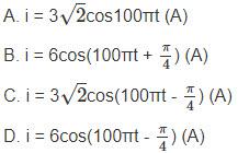 Câu hỏi bài 11 trang 80 sgk lý lớp 12 - 1