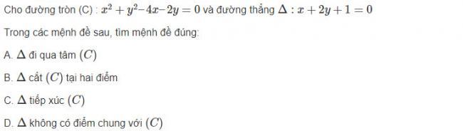 Giải toán hình học lớp 10 bài 14 trang 96 sgk