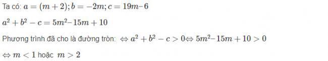 Đáp án bài 16 trang 96 sgk hình học lớp 10
