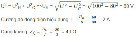 Đáp án bài 6 trang 79 sgk lý lớp 12
