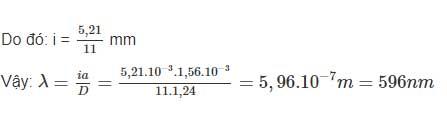 Đáp án bài 10 trang 133 sgk lý lớp 12