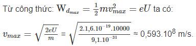 Đáp án bài 6 trang 146 sgk lý lớp 12