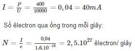 Đáp án bài 7 trang 146 sgk lý lớp 12