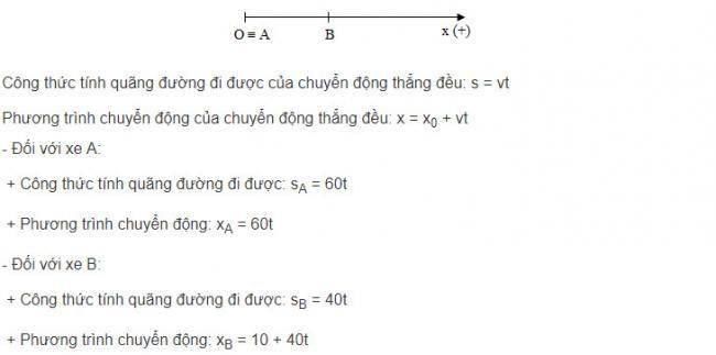 Giải bài tập Vật Lý lớp 10 bài 9 trang 15 sgk