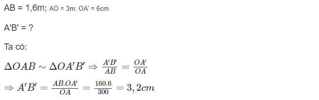 Đáp án bài C6 trang 127 sgk vật lý lớp 9 phần 1