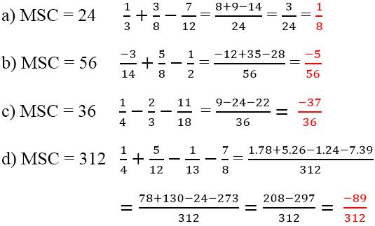 Đáp án bài 107 trang 48 sgk toán 6 tập 2