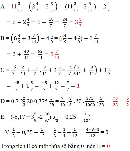 Đáp án bài 110 trang 49 sgk toán 6 tập 2