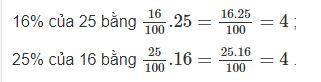 Đáp án bài 116 trang 51 sgk toán 6 tập 2