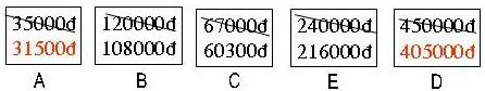 Đáp án bài 124 trang 53 sgk toán 6 tập 2