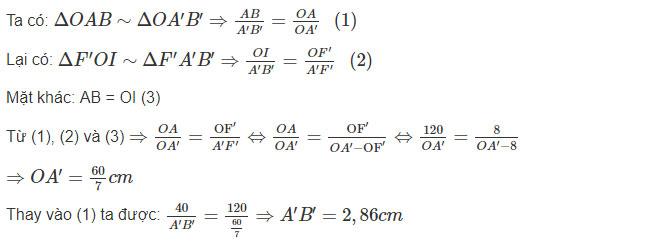 Đáp án bài 23 trang 152 sgk vật lý lớp 9 phần 1
