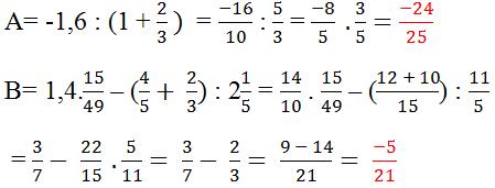 Đáp án bài 161 trang 64 sgk toán 6 tập 2