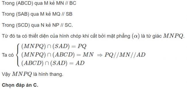 Đáp án bài 11 trang 80 SGK toán hình học lớp 11