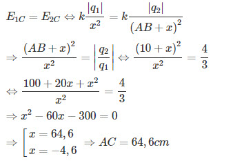 Đáp án bài 12 trang 21 SGK Vật lý 3