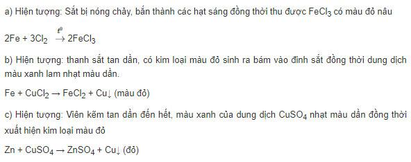 Đáp án bài 5 trang 51 sgk hóa lớp 9